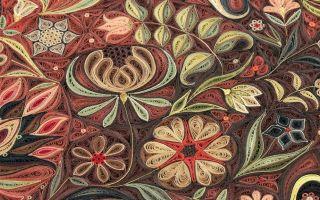 欣赏这些精致的地毯  仿佛在读一本8世纪的福音书