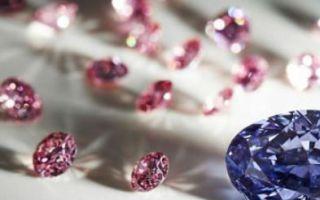 澳矿区开采出2.83克拉罕见紫色美钻 或将天价拍卖