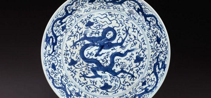 明代青花瓷:站鳌及第与骑鱼登仙