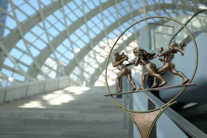 魔圈 磨光铜 40×20×65cm 2004年