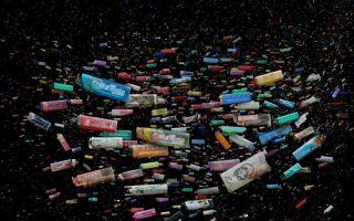 海洋垃圾摄影:远看美丽 细思忧心
