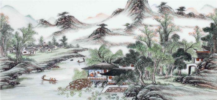 景德镇瓷器浅绛彩:暗香浮动小众之美