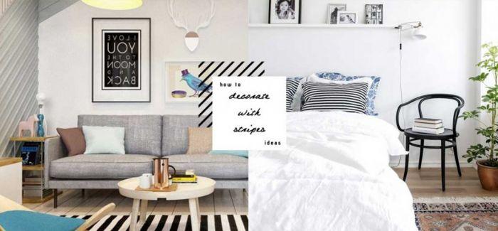 给条纹控:简单设计就能打造高质感的时尚居住空间
