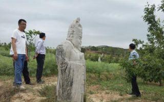 中国文物报社网站刊文指唐陵石人石马被