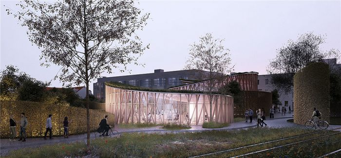 童话王国真的存在!隈研吾重新诠释丹麦安徒生博物馆