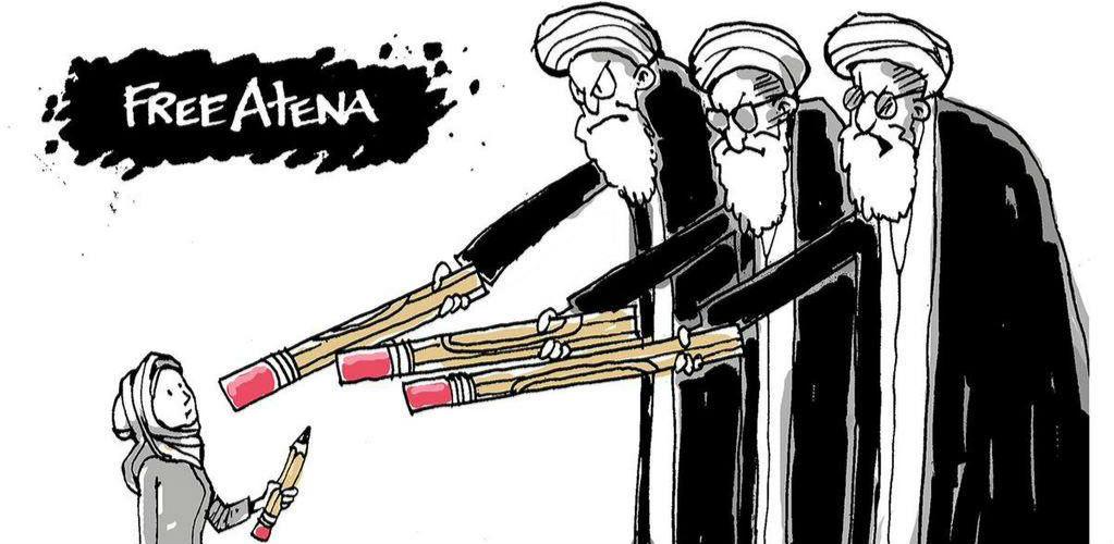 牢狱政治惹来18个月漫画之灾伊朗言论艺术自妖的大全漫画图片图片