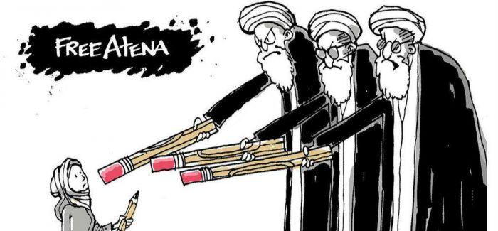 政治漫画惹来18个月牢狱之灾 伊朗艺术言论自由状况堪忧
