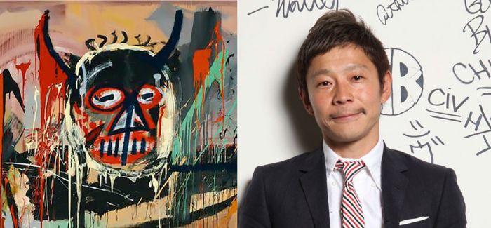 中国富豪之后 日本企业家豪掷5.28亿斩获巴斯奎特等多件拍品