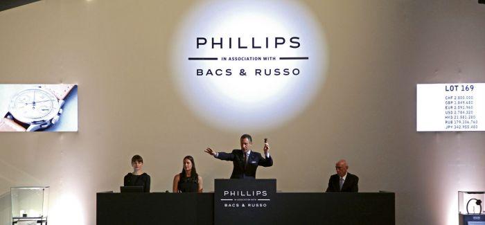 """菲利普斯拍卖行""""当代艺术之夜""""以总成交额4650万美元收场"""