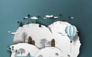 数字插画师Eiko Ojala创作出逼真的剪纸风格作品