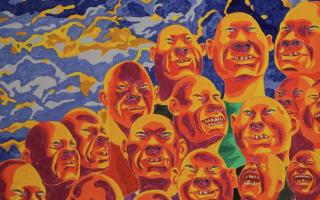 """方力钧、王音、萧昱、杨茂源在北京民生现代美术馆再塑""""线索.3"""":透析""""艺术生态""""的另一种模式"""