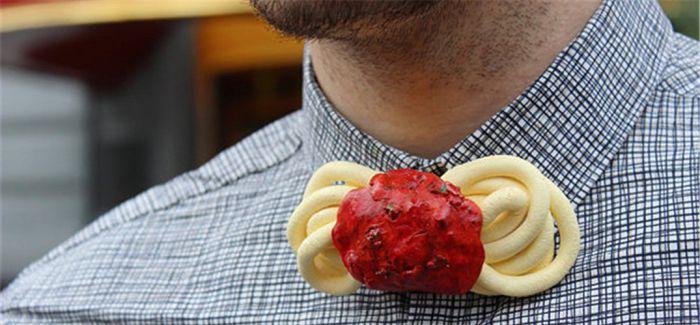现在吃货也有专门属于自己的领结了