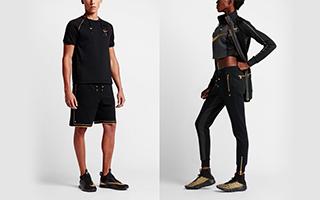 Olivier Rousteing x NikeLab lookbook 发布