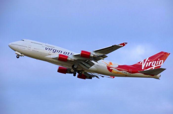 维珍航空第一架波音 747 退役了