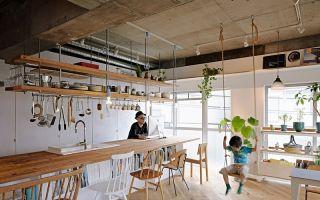 日本设计工作室 8  Tenhachi 创始人夫妇的公寓