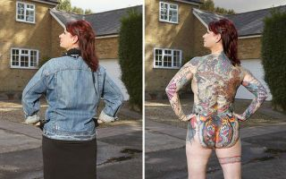 每一个看似寻常的路人  脱衣后都可能都有一身纹身