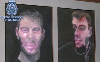 西班牙逮捕七名嫌犯 涉嫌盗窃1.83亿元培根作品