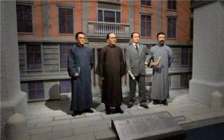 """""""中国现代文化名人蜡像艺术展""""预展开幕"""