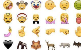 苹果又要更新 72 个 emoji 表情了 这次还会加上扶额和匹诺曹