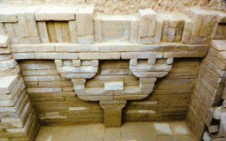 考古新发现:临猗汉墓出土砖砌仿木结构斗拱