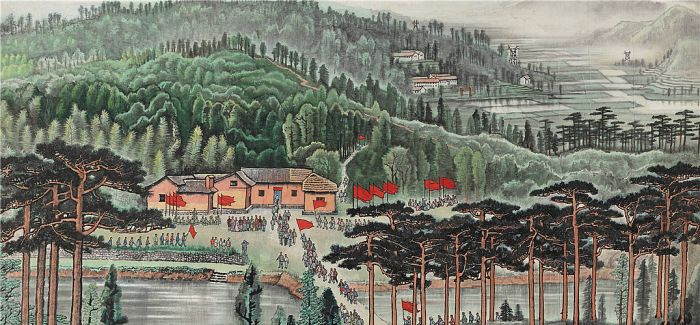 李可染三幅《韶山》在拍卖场上的经历