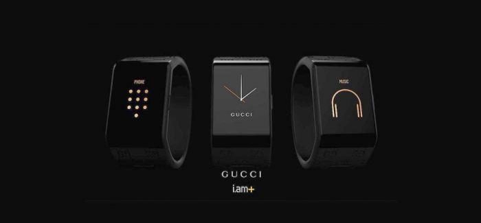 GUCCI 在早春秀场上 推出了和 Will.i.am 合作的智能手表