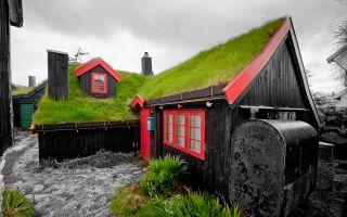 自然崇拜的极致:在屋顶上种草的北欧