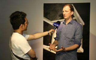 艺术融入翠湖天地:上海狮语画廊举办马丁•韦默尔个展