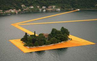 保加利亚艺术家Christo大型装置作品 浮动码头