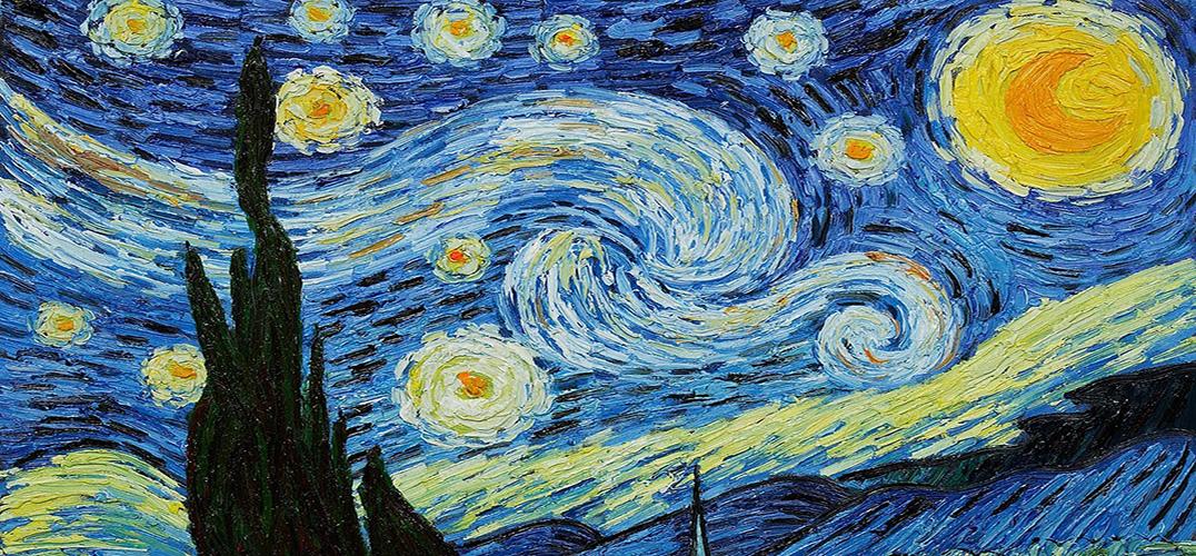 创意和科技 让梵高的星空在现代闪烁