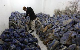 阿富汗国石遭疯狂盗采 塔利班收保护费赚利