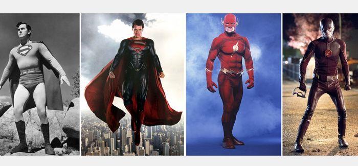 永远不要回头!超级英雄的扮相进化史