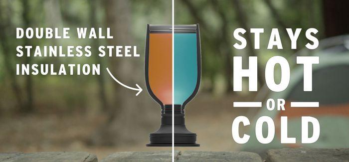 向夏天致敬:可以豪爽的一饮而尽的保冰水壶(水杯)