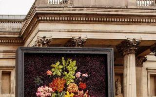 艺术永生:用26500支鲜花再现百年前盛开的油画