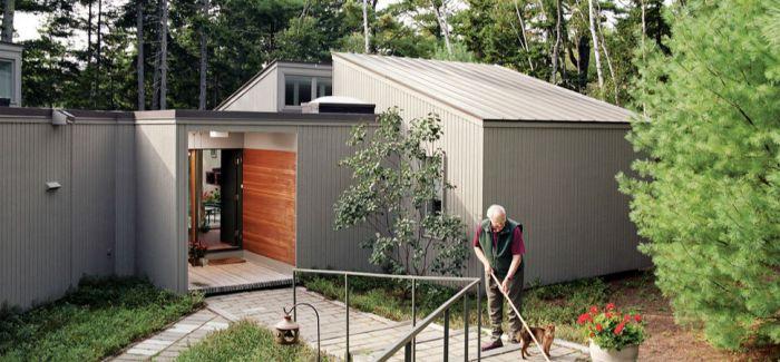老派建筑师Peter Cohen与妻子的乡间住宅