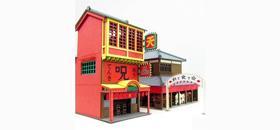 纸屋造景DIY模型 把吉卜力世界统统搬回家!