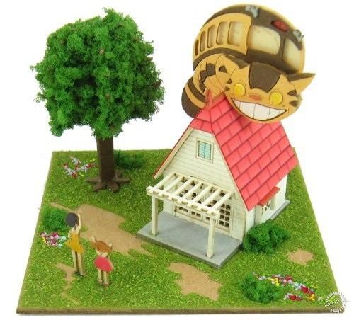 纸屋造景DIY模型,把吉卜力世界统统搬回家!第6张图片