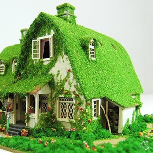 纸屋造景DIY模型,把吉卜力世界统统搬回家!第7张图片