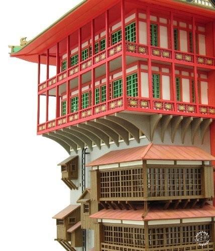 纸屋造景DIY模型,把吉卜力世界统统搬回家!第11张图片