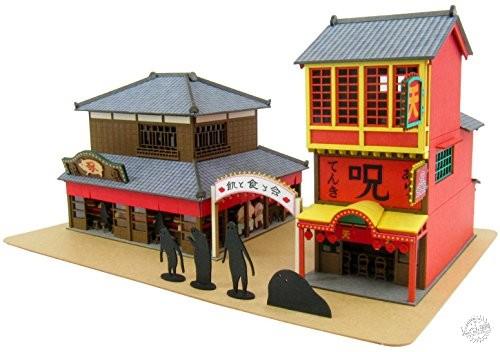 纸屋造景DIY模型,把吉卜力世界统统搬回家!第1张图片