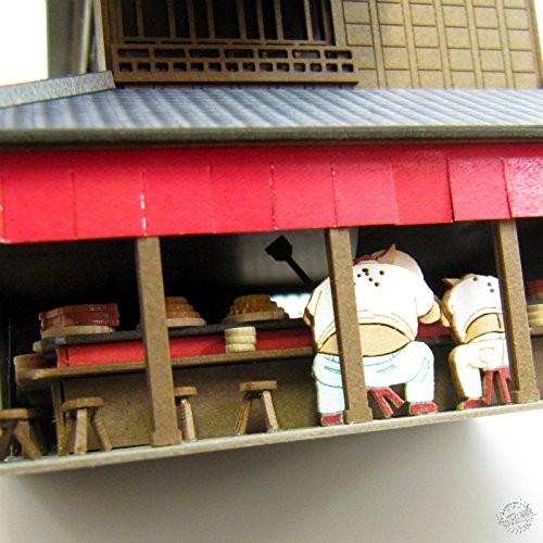 纸屋造景DIY模型,把吉卜力世界统统搬回家!第3张图片