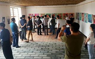 中国首家原生艺术馆在兰西揭牌
