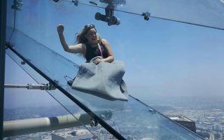 1000 英呎的奔驰体验!飞越恐惧的天空溜滑梯