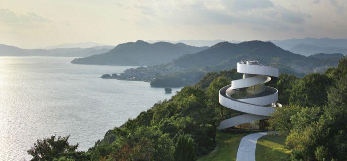 用缎带打造一个礼拜堂!日本内海的度假村的纯白建筑