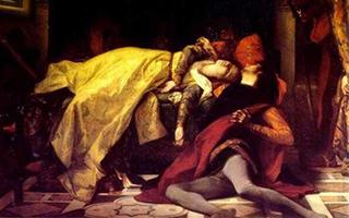 艺术品中的弗朗西斯卡 坠入地狱前有一声甜蜜的叹息