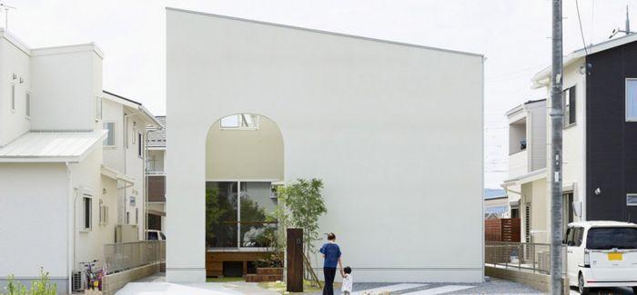 日本滋贺县的紧凑型小住宅Outsu House by Alts Design Office
