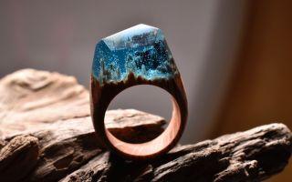 一个戒指   就是一个小小的世界