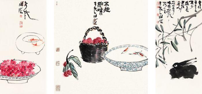 海阔天空  谢海的画作品展在中山美术馆举行