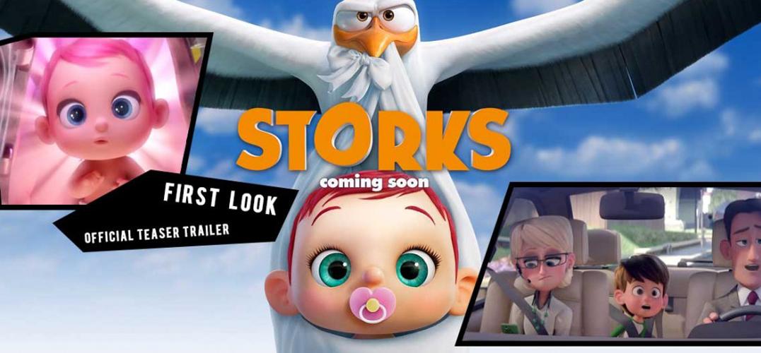 小时候懵懂,我们总爱问自己是从哪里来,爸妈们大概为了省去过于复杂的过程,所以选择可爱的小故事来带过,不过长大后我们自然也就清楚是怎么一回事。 在西方国家也有不少类似的传说,像是华纳兄弟最新出产的动画片《Storks》便是以「送子鸟」为灵感,描述一只白鹳送货员因为误触了婴儿制造机,意外开启了一连串的麻烦,而唯一的解决办法就是与鹳鸟山上唯一的人类Tulip一起携手合作。这也是继The Lego Movie后相关团队的再次合作,虽然目前只有简短的预告片,不过光是逗趣的内容就足以让人期待满满!  Stork又名白
