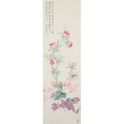 黄宾虹(款) 花卉